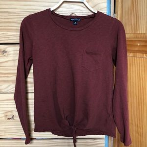 Knotted J Crew Mercantile Long Sleeve T-Shirt